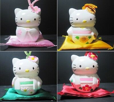 "Hello Kitty Japanese Antique CERAMIC DOLL Traditional Craft ""HAKATA-Doll """