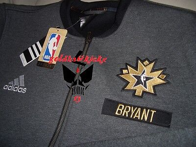 53f8d6a4eed 2016 ADIDAS NBA ALL STAR kobe bryant on court warm up jacket TORONTO lakers