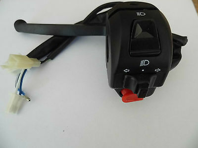 Left Hand Handlebar Switch rear brake to fit 50cc 125cc Scooter Indicator