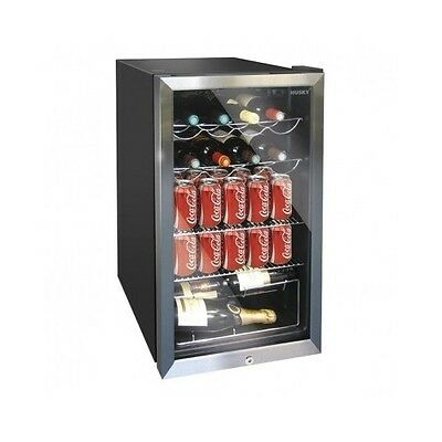 Wine Cooler 20 Bottle Chiller Cabinet Cool Beer Lager Cans Drinks Free Standing
