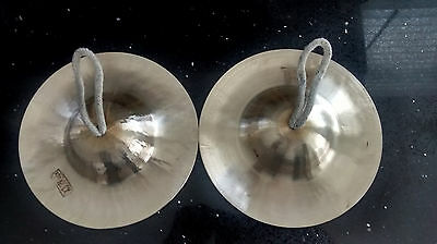 Hand Cymbals (pair) - typically found in Peking Opera