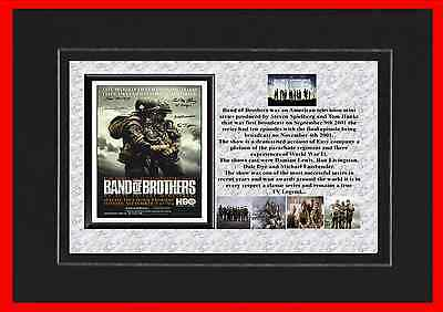 Band Of Brothers Tv Mounted Display