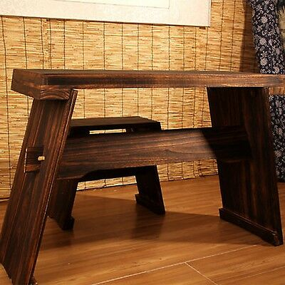 Matching table + chair (set) for Guqin 古琴桌凳(套)