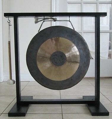 """Gong (for concert or ceremony), 36cm (approx. 14"""") in diametre"""
