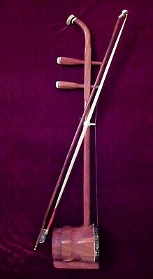 zhonghu, rosewood (Chinese 2-stringed fiddle, tenor erhu)