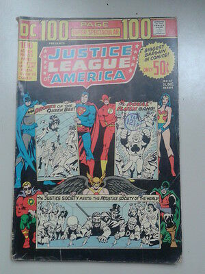 JUSTICE LEAGUE OF AMERICA # DC-17 (DC, 1973) – 100 pages
