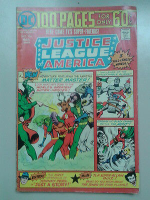 JUSTICE LEAGUE OF AMERICA # 116 (DC, 1975) – 100 pages