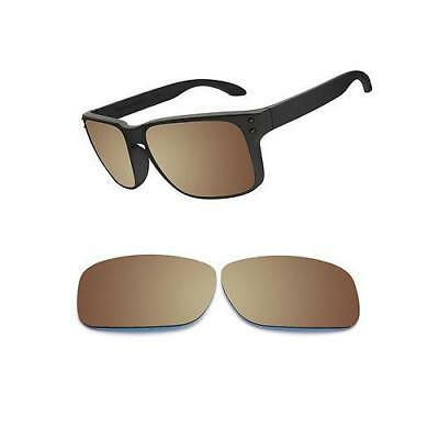 b737515aa9ef0 Optico Replacement Polarized Lenses for Oakley Holbrook Sunglasses Sport  Brown