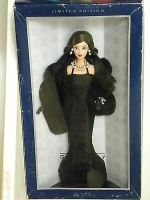 Stunning Givenchy Barbie Doll Limited Edition 24635 Unopened New in Box