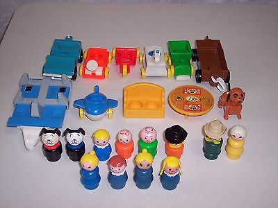 YOU CHOOSE fisher price little people vintage