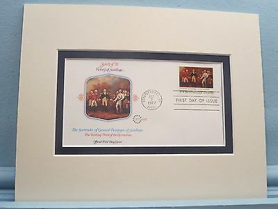 The Battle of Saratoga - The Turning Point of the Revolution & First day Cover