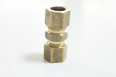"""Pack of 500 New 1/8"""" OD Compression Union ,BRASS COMPRESSION FITTING"""