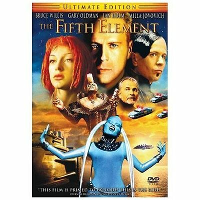 The Fifth Element (DVD, 2005, 2-Disc Set, Ultimate Edition) Factory Sealed NEW