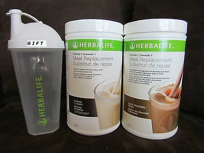 2Herbalife Protein Shake 750g (6 FLAVORS) & GIFT - FREE SHIPPING