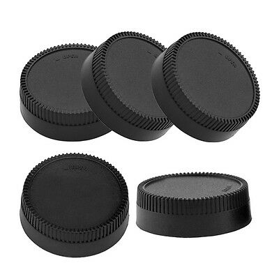 5pcs Rear Lens Cap Cover for All Nikon AF AF-S DSLR SLR Camera LF-4 Lens Plastic