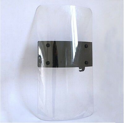 Anti-Riot Shield Polycarbonate Security Equipment for Cosplay Police Tactical CS