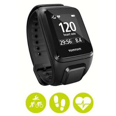 TomTom Spark Cardio GPS Watch + Built-in Heart Rate Monitor (Black Large/Small)