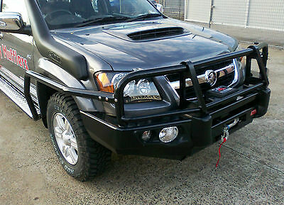 Mcc 4Wd Steel Brush Bars To Suit Holden Colorado Rc 2008-11 ***brand New***