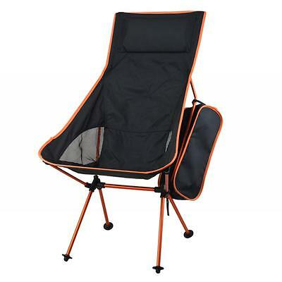 Outdoor Portable Extended Ultralight Collapsible Moon Leisure Camping Chair