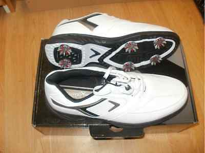 Chaussures golf Callaway M168 noire et blanche taille 44.5 UK 10 neuf