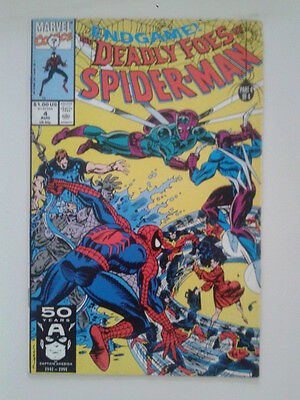 THE DEADLY FOES OF SPIDER-MAN # 4 (Marvel, 1991)