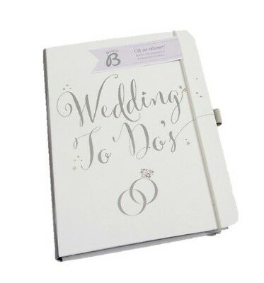 Busy B Wedding Planner To Do's Book Notebook Organiser Engagement Gift BRAND NEW