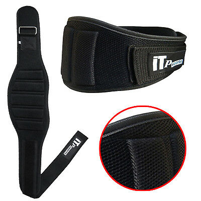 Weight Lifting Belt Gym Exercise Belts Back Support Training Ventilated  (464)