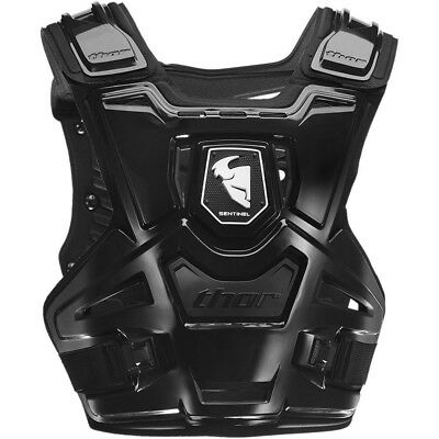 Thor MX NEW Sentinel CE Certified Body Armour Black Motorcross Chest Protector