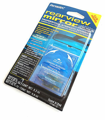 PERMATEX 81844 Professional Strength Rearview Mirror Adhesive mirror-mounting