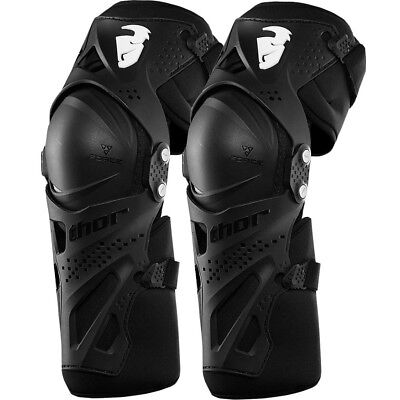 Thor MX NEW Kids Force XP Black Youth Full Dirt Bike Motocross Knee Guards