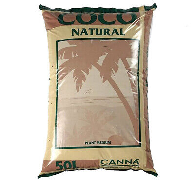 Pallet Canna Coco Natural Coir 50L Hydroponic Growing Medium / Soil - 50 X Bags