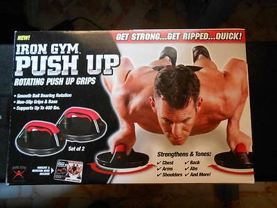 Push Up Pro Iron Gym Push Up Addominali Originale Maniglie Rotanti  Originale