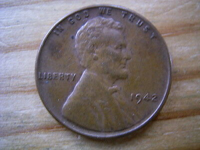1942  usa 1 cent coin collectable