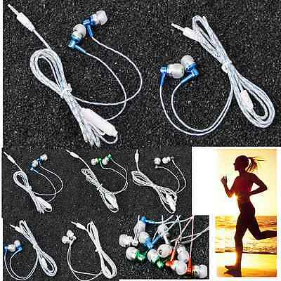 3.5mm MP3 In-Ear Earbuds Earphone Headset Headphone For iPhone 6 Samsung iPod PC