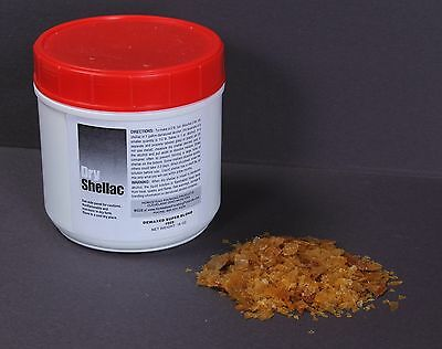Dewaxed Super Blonde Shellac Flakes by Homestead 1 lb Finest Quality