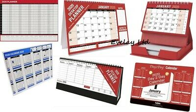2019 Flip Week / year To View Desk Top Stand Up Office Home Planner Calender