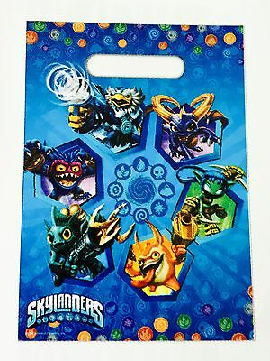 Skylanders Lolly Loot Party Bags Birthday Treat Favour Favor Supplies 10 Pack