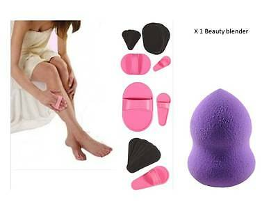 Pro smooth legs skin pads, arm face upper lip hair removal & beauty blender