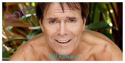 Cliff Richard 2017 Desktop Calendar *ONLY £5.99*