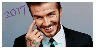 David Beckham 2017 Desktop Calendar *ONLY £5.99*