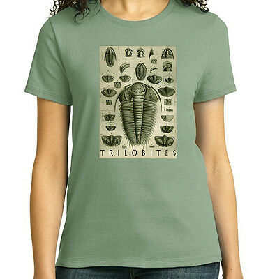 Trilobites by Barrand, Fossils, Geology T-Shirt, Mens Ladies Youth Styles, NWT
