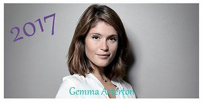 Gemma Arterton 2017 Desktop Calendar *ONLY £5.99*