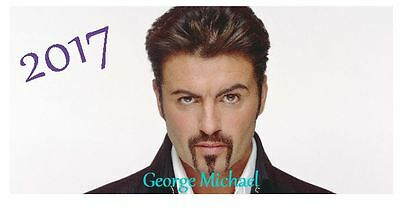 George Michael 2017 Desktop Calendar *ONLY £5.99*