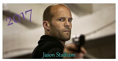 Jason Statham 2017 Desktop Calendar *ONLY £5.99*