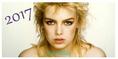 Kim Wilde 2017 Desktop Calendar *ONLY £5.99*