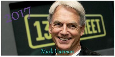 Mark Harmon 2017 Desktop Calendar *ONLY £5.99*