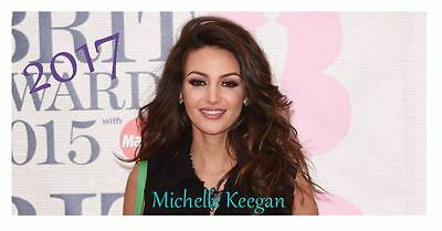 Michelle Keegan 2017 Desktop Calendar *ONLY £5.99*
