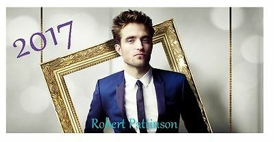 Robert  Pattinson 2017 Desktop Calendar *ONLY £5.99*