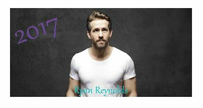 Ryan Reynolds 2017 Desktop Calendar *ONLY £5.99*