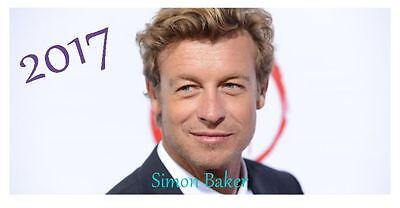 Simon Baker 2017 Desktop Calendar *ONLY £5.99*
